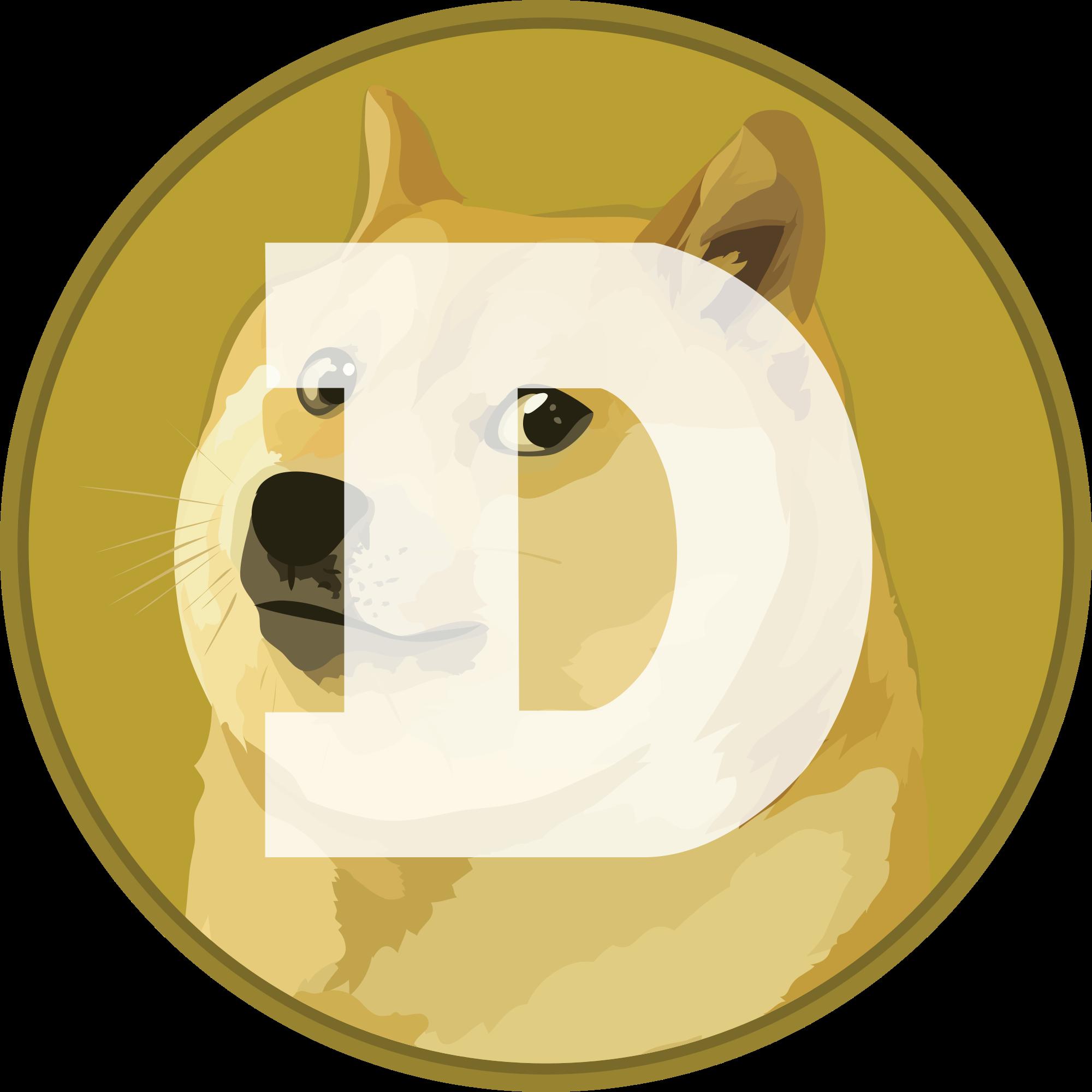 Dogecoin (DOGE) Logo .SVG and .PNG Files Download