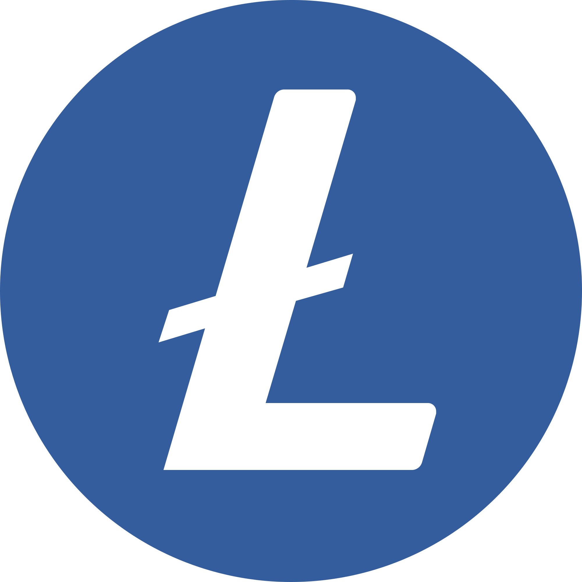 Litecoin (LTC) Logo .SVG and .PNG Files Download