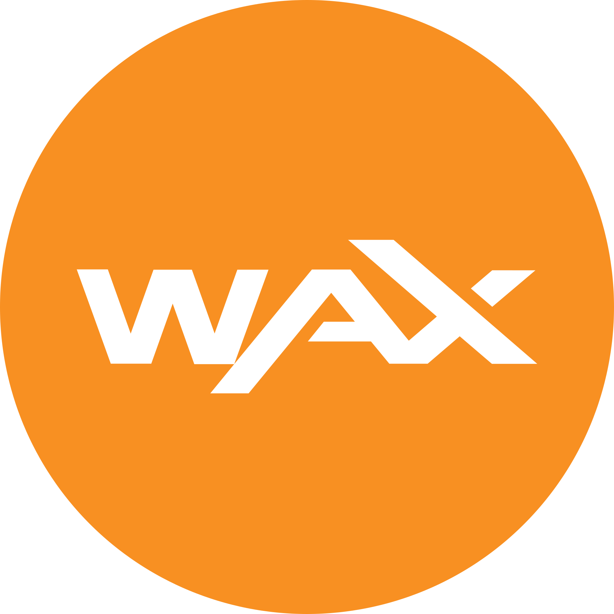 WAX (WAXP) Logo .SVG and .PNG Files Download